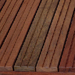 Exotic wood tiles